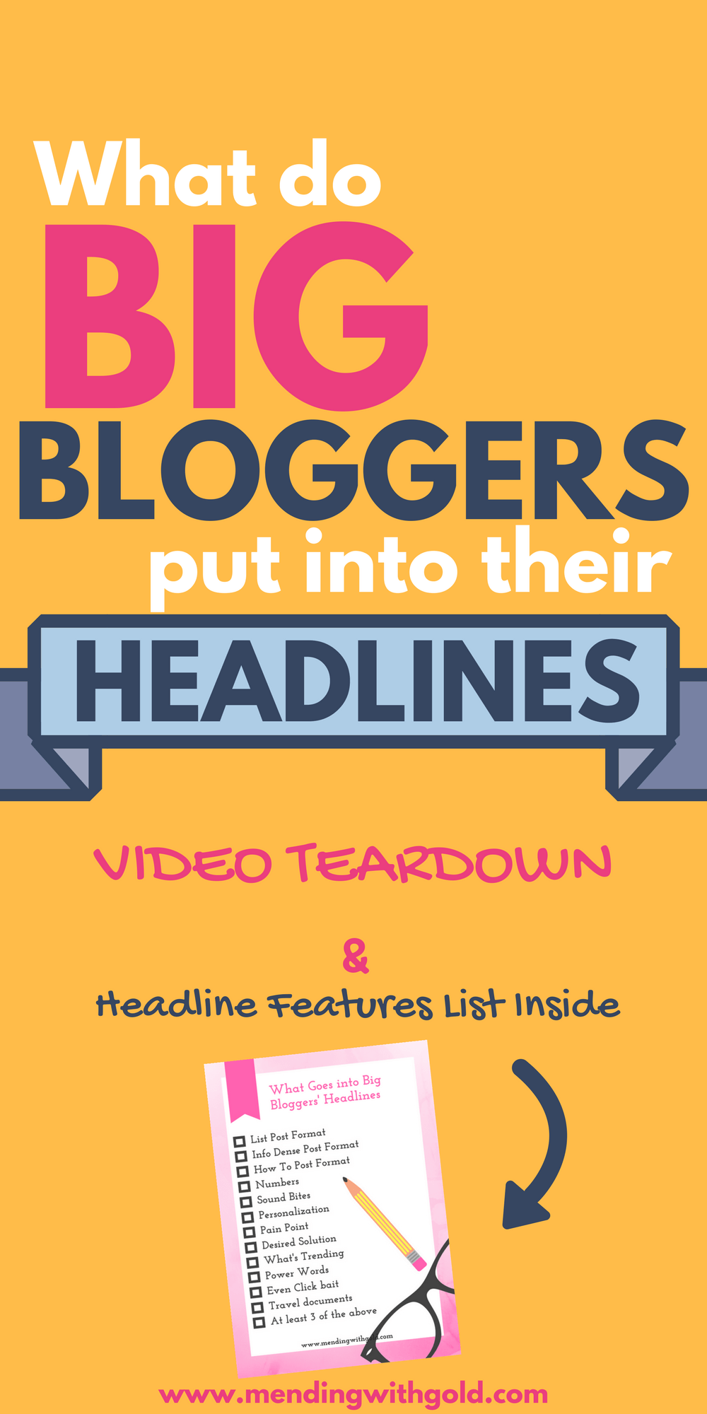 Want to know what goes into the headline or blog title of a popular post by a giant blogger? Click to check the short video teardown of 5 extremely popular blog headlines.