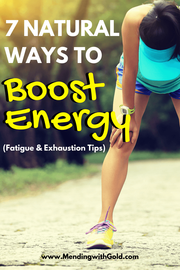 Energy boosting tips for moms who suffer from fatigue and exaustion. #momlife #momhacks #moms #momadvice #adviceformoms #stayathomemom #health