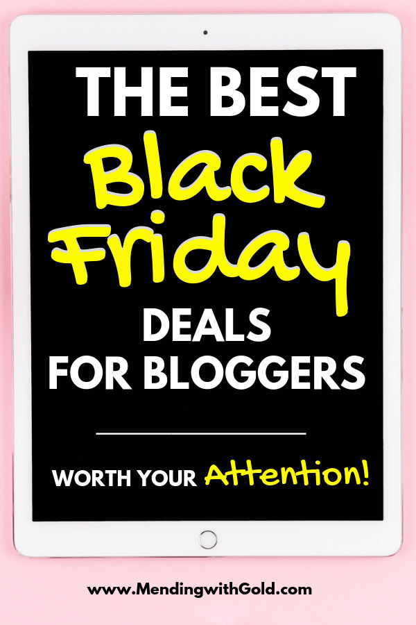 black friday deals, steals, coupons and discounts for bloggers and online marketers in 2018 #blackfridaydeals #cybermondaydeals