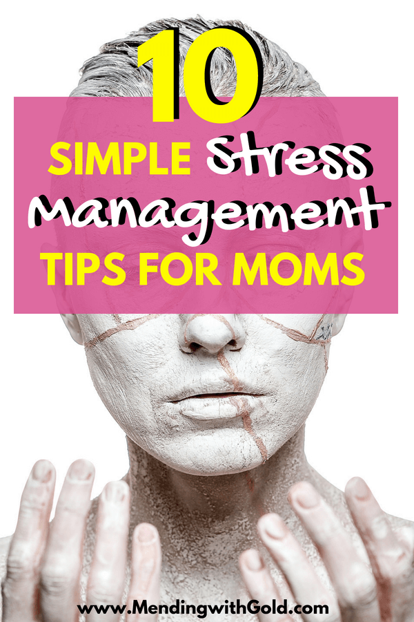 Stress relief and management tips and ideas for moms #moms #momlife #momhacks #stressrelief #stressmanagement #wellnesstips #adviceformoms