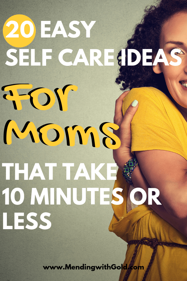 Self care ideas for moms and women who are worn out at home. DIY simple tips, advice, inspiration, activities & things to do to love yourself that will relieve stress and anxiety. Click to learn more. #momlife #momhacks #stayathomemom #wellnesstips #selfcare #adviceformoms
