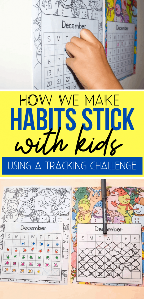 habit calendar before and after tracking pics pinterest image