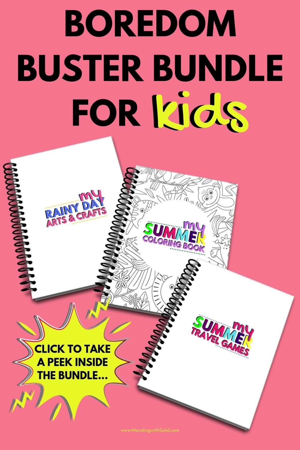 boredom buster bundle for kids image