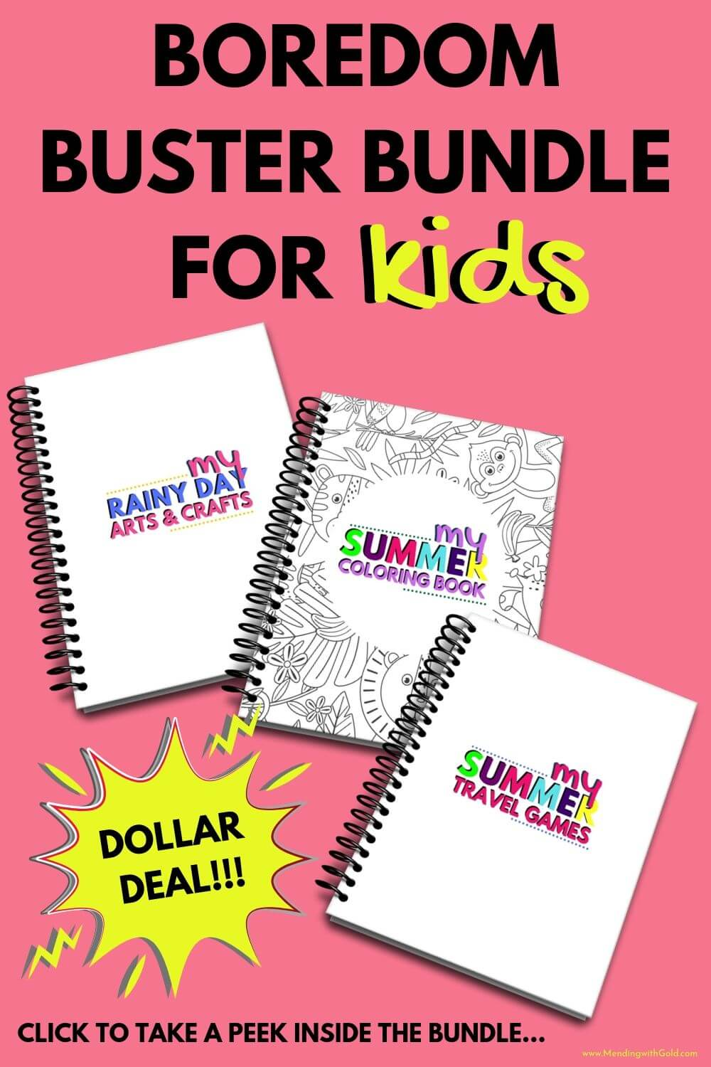 boredom buster activities and games for kids