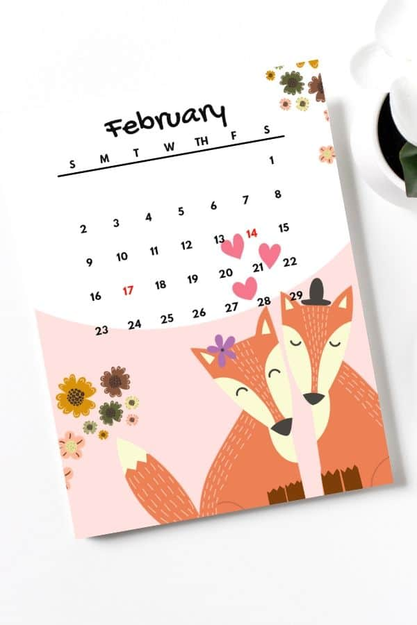 february-2020-calendar-printable-pdf-animal-themed-for-kids-portrait-or-vertical