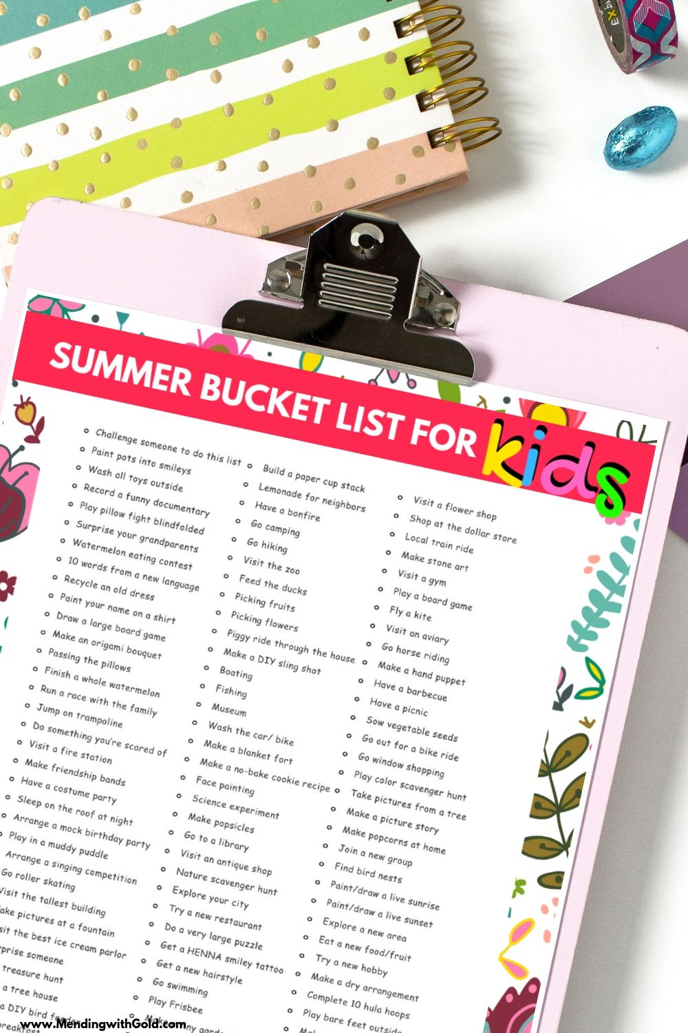 list of fun things to do in summer bucket list for kids