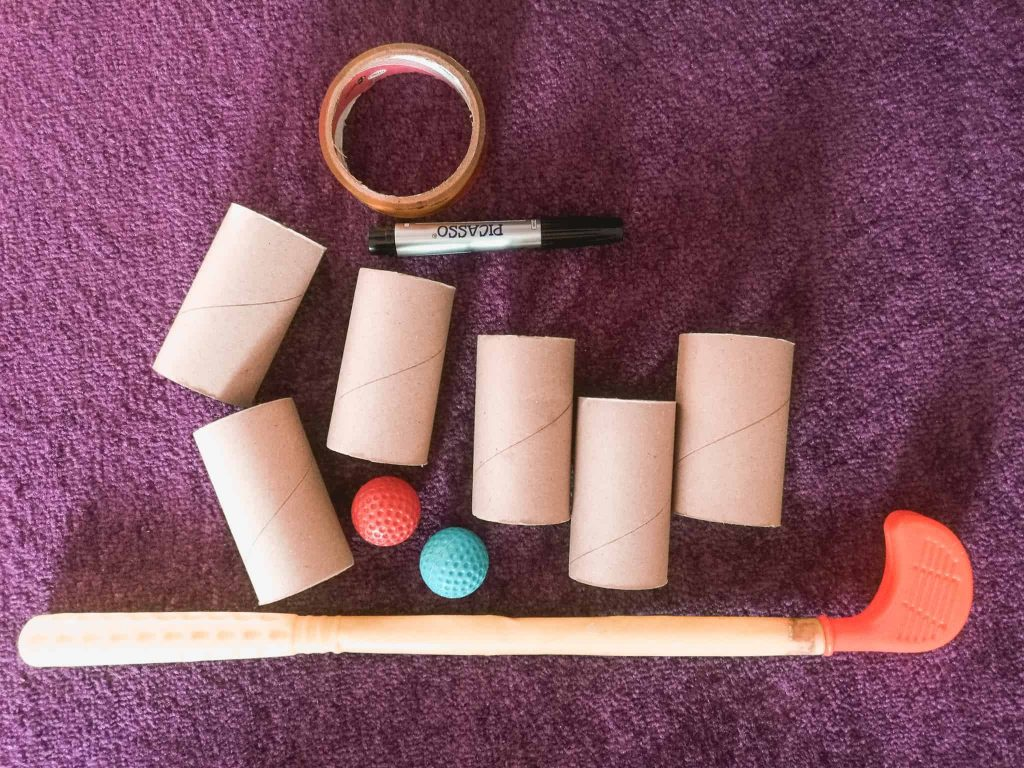 games with toilet paper rolls