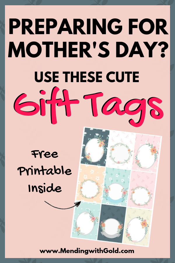 free printable decorative gift tags