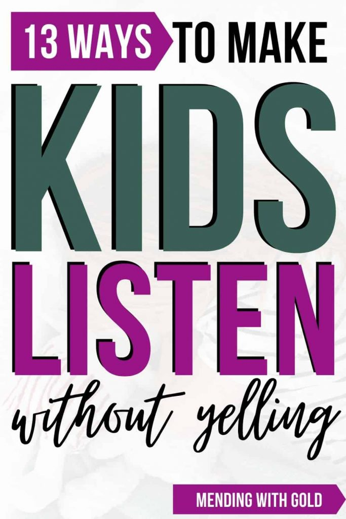 how to make kids listen