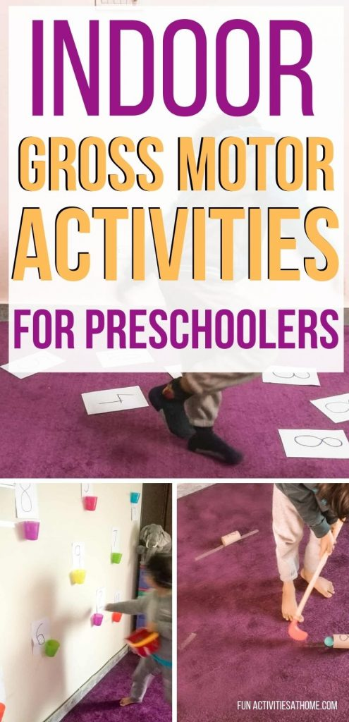indoor gross motor activities pin image