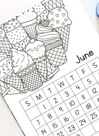 june calendars for kids