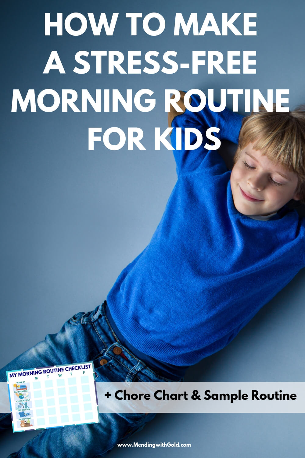 Morning routines make mom life easy! Simple daily schedules r a must for moms who work at home esp. a morning routine for moms with babies, toddlers or pre-schoolers! Add in the school morning routine for kindergarten children or kids you homeschool=blast! Using daily routine charts for kids in the house like this free printable kids chore chart w/ morning checklist for kids is one of the best ideas for healthy stress-free parenting. #kids #parenting #timemanagementtips #momlife #productivity
