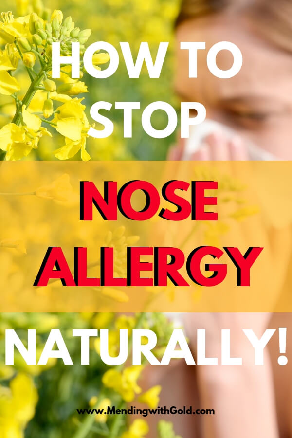 Nose allergy remedies to try at home that REAALLY work for me. All natural health and wellness for that painful sinus pressure and itchy eyes with these health tips! These allergy relief tips are my go to natural remedies for allergies that bring me down every time the symptoms strike (like the dreaded sinus allergies ones!). #healthtips #healthandwellness #noseallergy #naturalremedies #allergies #seasonaallergies #athome #homemaking #wellnesstips