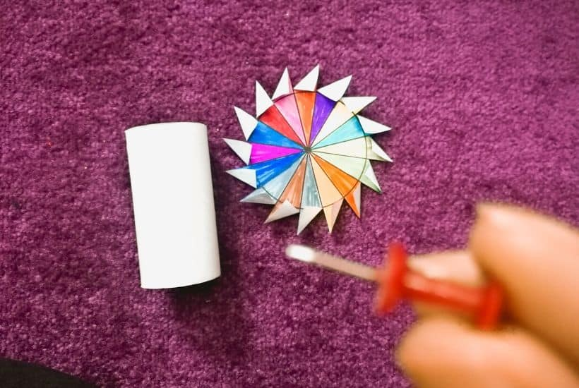Paper Windmill Instructions (+ Pinwheel Template!)