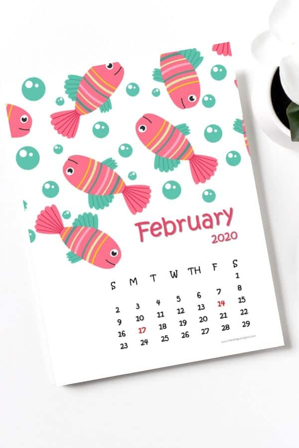 sea world february calendar