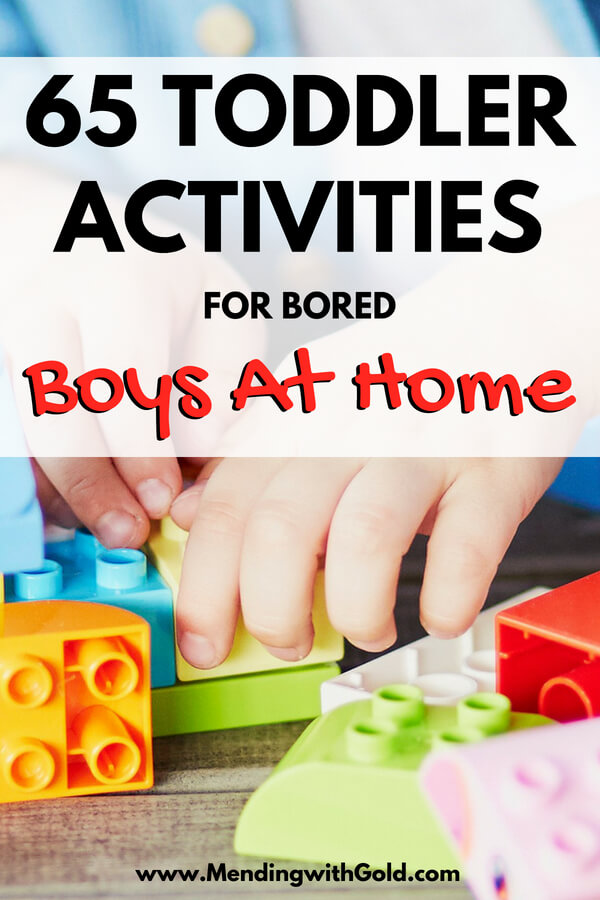 Toddler Activities For Boys At Home Pin Image Mending With Gold