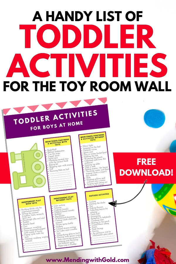Great ideas for how to wear out a toddler indoors! Use these recreational activities for pre-schoolers and toddlers who are bored but YOUR are busy. Includes quiet activities for 3-5 year olds, outdoor activities for 3-5 year olds and even some open ended activities for 3 year olds. Let's make raising kids and parenting fun! Toddlers and pre-schoolers need our best! #raisingkids #kids #parenting #kidsactivities #kidsandparenting #toddlersandpreschoolers