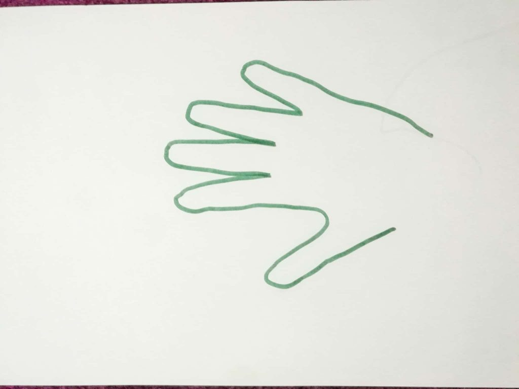hand trace craft for kids