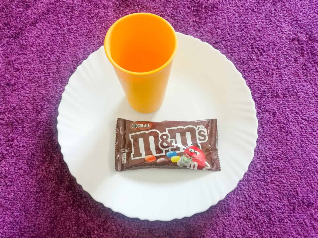 M&M Science Experiment